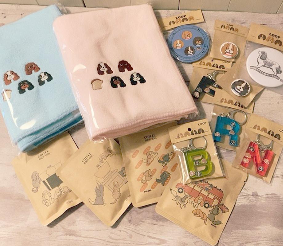 埼玉県坂戸市にある小さな雑貨店LOOPのオリジナル商品画像